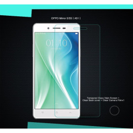 Dr. Vaku ® Oppo Mirror 5 / 5S Ultra-thin 0.2mm 2.5D Curved Edge Tempered Glass Screen Protector Transparent