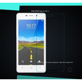 Dr. Vaku ® Oppo Joy 3 Ultra-thin 0.2mm 2.5D Curved Edge Tempered Glass Screen Protector Transparent
