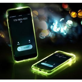 FashionCASE ® Samsung Galaxy S6 LED Light Tube Flash Lightening Case Back Cover