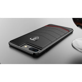 Ferrari ® Apple iPhone 7 Plus Scuderia Luxurious Leather  Stitched Limited Edition Back Cover