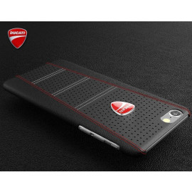 Ducati ® Apple iPhone SE 2020 SCRAMBLER Series Genuine Leather Back Cover