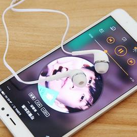Joyroom ® JR-E106 3.5mm Flat Cable In-ear Stereo Earphone with Mic Earphone