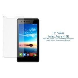Dr. Vaku ® Intex Aqua 4.5E Ultra-thin 0.2mm 2.5D Curved Edge Tempered Glass Screen Protector Transparent