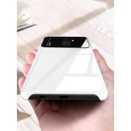 Vaku ® Samsung Galaxy A6 Polarized Glass Glossy Edition PC 4 Frames + Ultra-Thin Case Back Cover