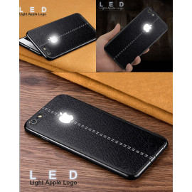VAKU ® Apple iPhone 7 LED Lexza Light Illuminated Apple Logo 3D Designer Case Back Cover