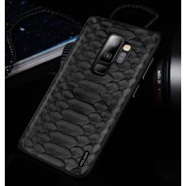 Hojar ® Samsung Galaxy S9 Plus Boa Series Luxurious Shine Textured Leather Finish Back Cover