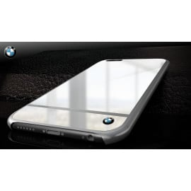 BMW ® Apple iPhone 6 / 6S Mirror Signature Shine Electroplated Metal Hard Case Back Cover