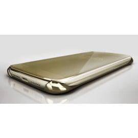 Vaku ® Xiaomi Redmi Y2 Mate Smart Awakening Mirror Folio Metal Electroplated PC Flip Cover