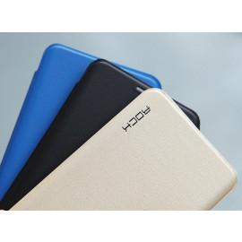Rock ® Samsung Galaxy S7 Elegante Series Skin Feel Folio Grip PU Leather Case Flip Cover