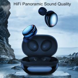 VAKU ® TWS T-880 Hifi Binaural Bluetooth 5.0 TWS Earphones Noise Reduction IPX7 Waterproof Earphone