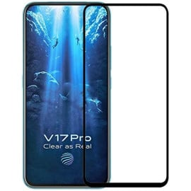 Dr. Vaku ® Vivo V17 Pro 5D Curved Edge Ultra-Strong Ultra-Clear Full Screen Tempered Glass -Black