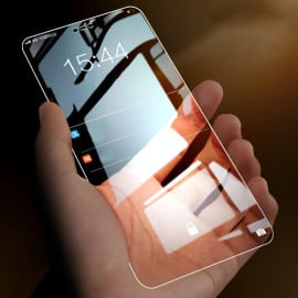 Dr. Vaku ® EyeFi Series 2.5D Curved Edge Ultra-Strong Full Tempered Glass - iPhone  ( Pack of 5 )