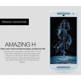 Dr. Vaku ® Motorola Moto G2 Ultra-thin 0.2mm 2.5D Curved Edge Tempered Glass Screen Protector Transparent