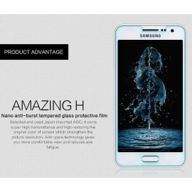 Dr. Vaku ® Samsung Galaxy A3 Ultra-thin 0.2mm 2.5D Curved Edge Tempered Glass Screen Protector Transparent