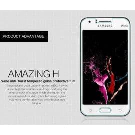 Dr. Vaku ® Samsung Galaxy J Ultra-thin 0.2mm 2.5D Curved Edge Tempered Glass Screen Protector Transparent