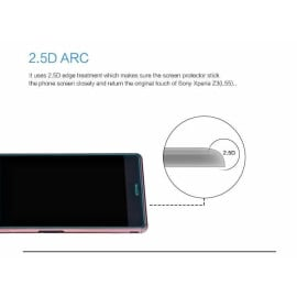 Dr. Vaku ® Sony Xperia Z3 Ultra-thin 0.2mm 2.5D Curved Edge Tempered Glass Screen Protector Transparent