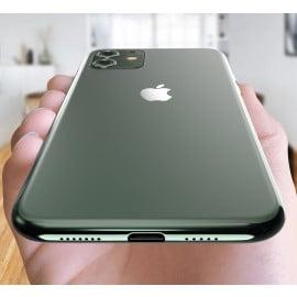 Vaku ® For Apple iPhone 11 1:1 Logo Chrome Line Back Cover