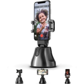 Vaku ® The Personal Robot-Cameraman 360 Rotation Auto Tracking rotatable Smart Following Face & Object Tracking Intelligent shootings Phone Mount Personal Sensor Holder Tripod