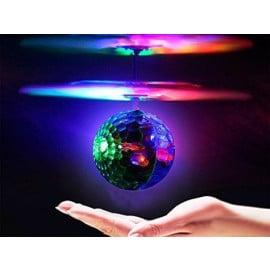 Flying LED Fidget Spinner Hand Sensing Ball