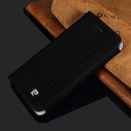 Pierre Cardin ® Apple iPhone 6 Plus / 6S Plus Paris Design Premium Italian Leather Magnetic Flip Cover