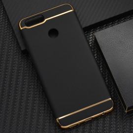 Vaku ® Huawei Honor 7X Ling Series Ultra-thin Metal Electroplating Splicing PC Back Cover
