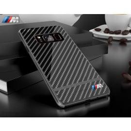 BMW M ® Samsung Galaxy S8 Plus Metallic M Series Carbon Fibre + Aluminium Hard Case Back Cover