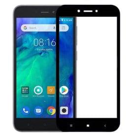 Dr. Vaku ® Xiaomi Redmi Go 5D Curved Edge Ultra-Strong Ultra-Clear Full Screen Tempered Glass-Black