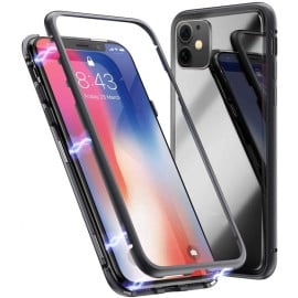 Vaku ® For Apple iPhone 11 Electronic Auto-Fit Magnetic Wireless Edition Aluminium Ultra-Thin CLUB Series Back Cover