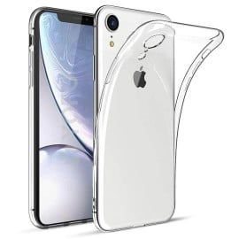 VAKU ® Apple iPhone Xr Camera Lens Protection Transparent TPU Back Cover