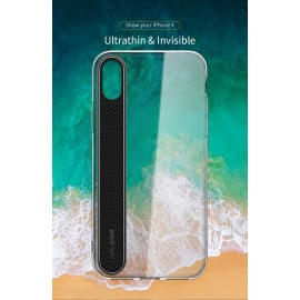 Rock ® Apple iPhone X Ace Series Ultra-Clear Transparent View Minimalist Design Back Cover