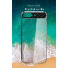 Rock ® Apple iPhone 8 Plus Ace Series Ultra-Clear Transparent View Minimalist Design Back Cover