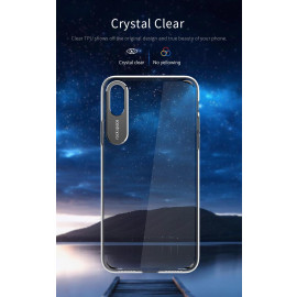 Rock ® Apple iPhone X Prime Series Ultra-Clear Transparent View with Anodized Aluminium Finish Back Cover