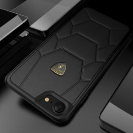 Lamborghini ® Apple iPhone 7 Official Aventador-D7 Series Genuine Leather Back Cover