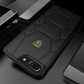 Lamborghini ® Apple iPhone 8 Plus Official Aventador-D7 Series Genuine Leather Back Cover
