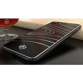 Mercedes Benz ® Apple iPhone 7 Plus / 8 Plus  SLS AMG Series Electroplated Metal Drop Line Technology Case Back Cover