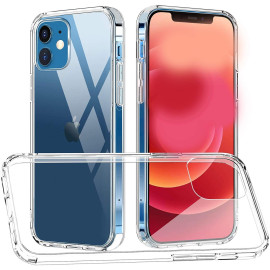 Vaku ® For Apple iPhone 12 Mini Crystal Series Transparent Hard Case with High Grade material Back Cover
