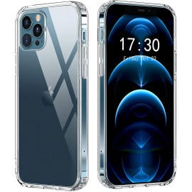 Vaku ® Apple iPhone 12 /12 Pro/12 Pro Max Crystal Series Transparent Hard Case Back Cover[ Only Back Case ]