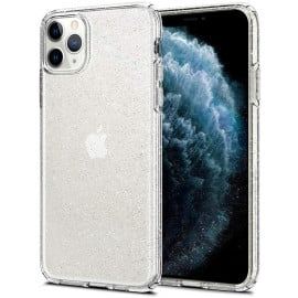 Luxos ® Apple iPhone 11 Pro Star Struck Series Transparent Protective Hard Back Cover