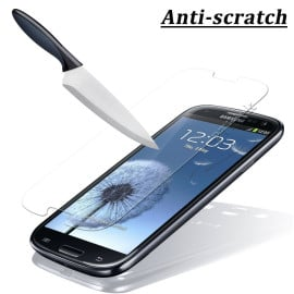 Dr. Vaku ® Samsung Galaxy S3 Ultra-thin 0.2mm 2.5D Curved Edge Tempered Glass Screen Protector Transparent