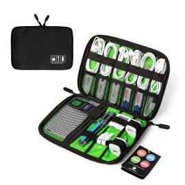 VAKU ® Portable Electronics Accessories Headphone / Earphone Cable / USB Organizer
