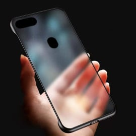 VAKU ® Oppo F9 / F9 Pro / Realme 2 Pro  Frameless Semi Transparent Cover (Ring not Included)