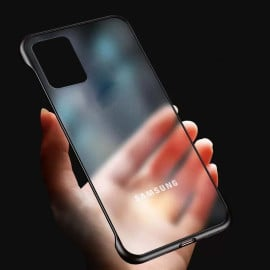 VAKU ® Samsung Galaxy S10 lite Frameless Semi Transparent Cover (Ring not Included)