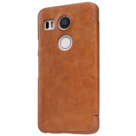 Nillkin ® LG Google Nexus 5X Nitq Folio Leather Protective Case with Credit Card Slot Flip Cover