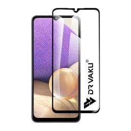 Dr. Vaku ® Samsung Galaxy A32 Full Edge-to-Edge Ultra-Strong Ultra-Clear Full Screen Tempered Glass- Black
