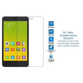 Dr. Vaku ® Huawei Honor Hol-U19 Ultra-thin 0.2mm 2.5D Curved Edge Tempered Glass Screen Protector Transparent