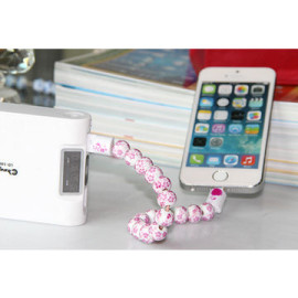 Chaopai ® Amaozus Beads Bracelet Apple Lightning Port Charging / Data Cable