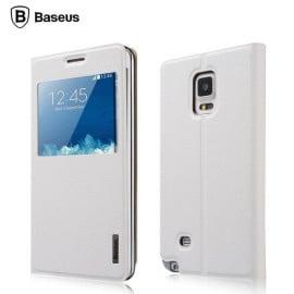Baseus ® Samsung Galaxy Note Edge Flip Folio Stand Faux Leather Primary Elegant Case Flip Cover