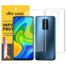 Eller Sante ® Redmi Note 9 Pro Impossible Hammer Flexible Film Screen Protector (Front+Back)