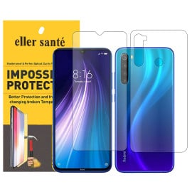 Eller Sante ® Redmi Note 8 Impossible Hammer Flexible Film Screen Protector (Front+Back)