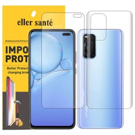 Eller Sante ® Vivo V19 Impossible Hammer Flexible Film Screen Protector (Front+Back)